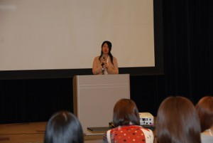 DSC_0055 卒業生講演 サイズ縮小