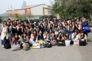 中央広場(1HAクラス写真)