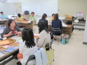 町田3学科(生活デザイン・児童・人間福祉)の進学個別相談会場です。